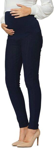 Conceized Premium Jegging para Mujer, Longitud Completa y Capri, tamaños Regulares y Grandes, Mezcla de algodón Transpirable