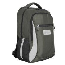 SQbags Mochila casual, escolar o de viaje Bike, espacio para laptop y multiples organizadores. Estabilizador pectoral, cintas reflejantes y correa de viaje
