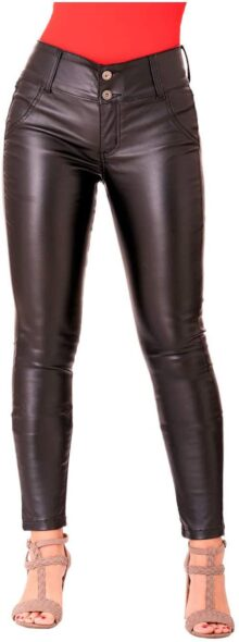 Lowla CCSB0719 Pantalones Piel Sintética Mujer
