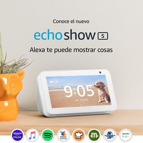 """Echo Show 5 - Pantalla compacta de 5.5"""" con Alexa - Blanco"""