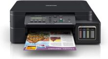 Brother BRT DCP-T510W Impresora Láser de Tinta Continua, B/N 27 PPM, Color 10 PPM, Wi-Fi