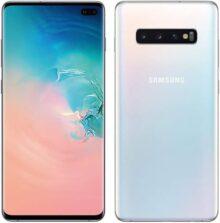 "Samsung Galaxy S10+ Plus 128GB+8GB RAM SM-G975 6.4"" Dual Sim LTE Libre de Fabrica (Version Internacional) Blanco"