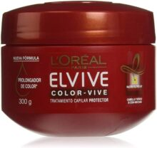 L'Oréal Paris Mascarilla para Cabello Teñido, Vive Elvive, 300 ml