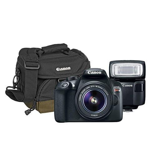 Kit SLR EOS T6 Kit con Lente EF-S 18-55 +SPEEDLITEL 100+ Bolsa 100EG