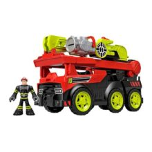 Fisher-Price Rescue Heroes Sets De Juego Preescolares Camión Transformable De Rescate GKC78