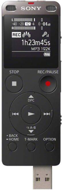 Sony ICD-UX560FBCLA Grabadora De Voz Digital Con USB Integrado