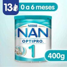 Nestle Nan Fórmula Infantil 1 Optipro, 400gr, Pack of 1