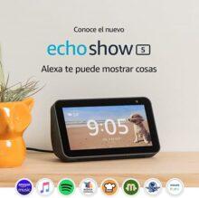 """Echo Show 5 - Pantalla compacta de 5.5"""" con Alexa - Negro"""
