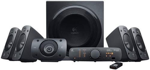 Logitech - Z906 - Sistema de Audio Surround Sound 5.1 - Negro