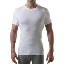 The Thompson Tee Camiseta Interior antisudor con Refuerzo EN Las Axilas - Corte Ajustado - Cuello Redondo