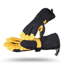 weiyoutong Guantes Moto Invierno,Guantes de esquí Impermeable Termicos 3 M Thinsulate para Hombres y Mujeres