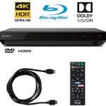 Sony 4K Ultra HD Reproductor de BLU Ray con 4K HDR y Dolby Vision + Cable HDMI de 6 pies (UBP-X700)