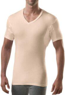 Thompson Tee sudor prueba Undershirt con hydro-shield axilas Pads–Slim Fit–Hombre Vneck