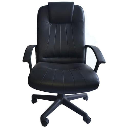 Sillón Ejecutivo para oficina y escritorio negra Puglia