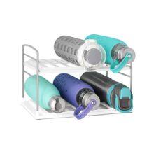 YouCopia - Organizador de botellas de agua, Blanco, 2 Shelf, 1