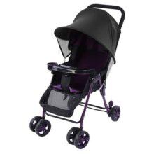 Baby Infant Cochecito Sombrilla Sombrilla Rayos de protección UV Instalación fácil Cubierta para sombrilla Toldo Silla de paseo Cochecitos de protección solar para cochecitos y cochecitos de bebé (Negro)