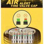Set De 4 Tapones Para Auto Valvula Presion Llantas Seguridad control de presión de neumáticos de coche, indicador de sensor de 3 colores, alerta visual, 4 unidades