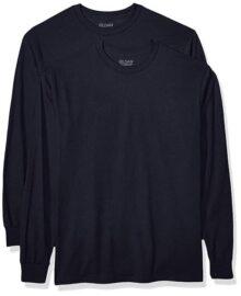 Gildan Dryblend Playera de Manga Larga para Adultos, Paquete de 2 Camisa para Hombre
