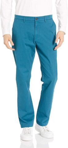 Goodthreads Amazon Brand, Pantalones Chinos elásticos para Hombre, Ajuste atlético