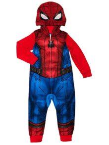 AME Marvel Spider-Man Pijamas 1 Pieza Manta Disfraz para niños