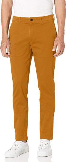 Goodthreads Pantalones Chinos Lavados Ajustados Pantalones Casuales para Hombre