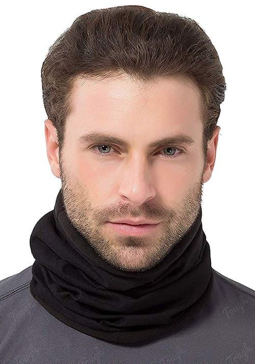 Tough Headwear Calentador de cuello – polaina de invierno y bufanda tubular de esquí para hombres y mujeres – cubierta de cara para clima frío, máscara
