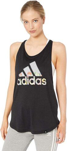 Adidas Playera sin Mangas Floral Esencial para Mujer