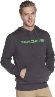 Skechers, Sudadera para Hombre, Heritage Pullover Hoodie Sweatshirt MHD3