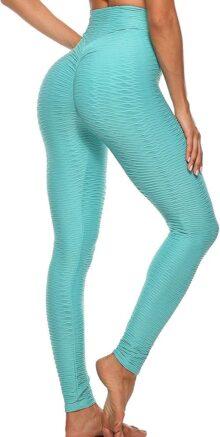 FITTOO Mallas Leggings Mujer Pantalones Deportivos Yoga Alta Cintura Elásticos y Transpirables