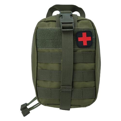SolUptanisu Bolsa de Primeros Auxilios táctica Bolsa de Primeros Auxilios médica para Acampar al Aire Libre Viaje de Emergencia Bolsa de Equipo de Supervivencia