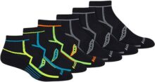 Saucony Multi Pack Bolt Performance Quarter - Calcetines para hombre