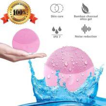 Cepillo de limpieza facial, facial eléctrico para mujeres y hombres,masajeador facial y dispositivo de cuidado de la piel antienvejecimiento para todos los tipos de piel