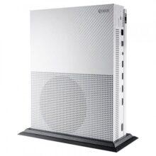 eXtremeRate Soporte para Consola de Xbox One S Soporte Vertical de enfriamiento Armazón Perpendicular para la Consola de Xbox One S (Negro)