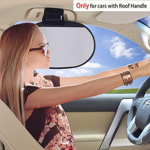 TFY Parasol para el Techo Interior del Coche, Protección Solar más Reductor de Deslumbramiento para Ventanas Delanteras y Traseras para Ford, Chevrolet, Buick, Audi, BMW, Honda, Mazda, Nissan