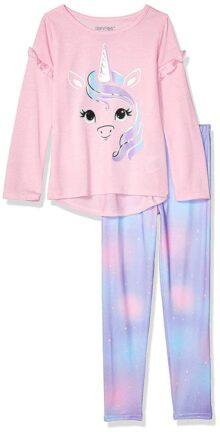 St. Eve Conjunto de Pijama de Legging Juego de Pijama para Niñas