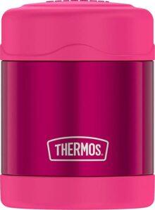 Thermos Funtainer - Contenedores para alimentos, 295.74 ml, Rosado, Rosado, 10 onzas (295.73ml), 1