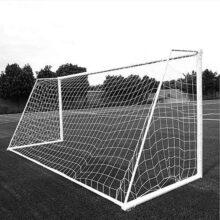 Aoneky Red de portería de fútbol 24 x 8 pies – Tamaño Completo – Malla para portería de fútbol – no Incluye Postes