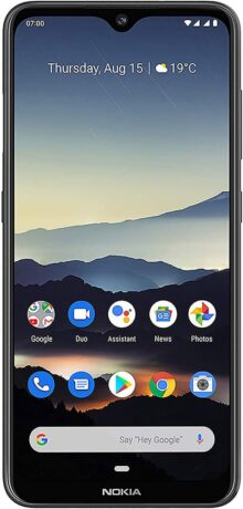 Nokia 7.2 - Android 9.0 Pie - 128 GB Smartphone, Carbón