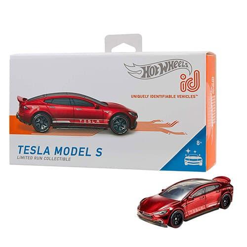 Hot Wheels ID Auto de Juguete Tesla Model S