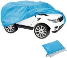 TIURE Funda para Coche para niños, Envoltorio para Exteriores para niños con batería eléctrica, Ruedas de Juguete, vehículos