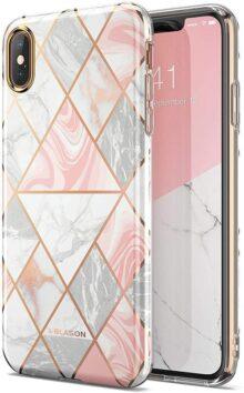i-BLASON Funda para iPhone XS MAX, [diseño Elegante] [Cosmo Lite] Premium híbrida Delgada con protección de cámara para iPhone XS MAX 6.5 Pulgadas (versión 2018)
