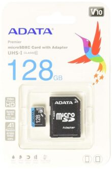 ADATA RAM-3040 Memoria Micro SDHC/SDXC Uhs-I 128GB Clase 10 A1 85Mb/Seg C/Adaptador