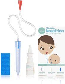 Fridababy NoseFrida SnotSucker Saline Kit