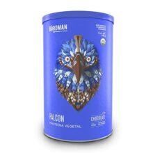 Falcon Protein Birdman, Proteina Vegetal (Vegana) en polvo Certificada Orgánica Sabor Chocolate 510 gr