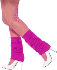 Smiffys Unisex Adult Leg warmers,Hot Pink,One Size