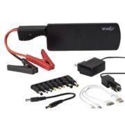 Weego Jump Starter 22 – más eficiente, arranque de gas de 5 litros, Arranque con pinzas JS18, Negro, 18000 mAh