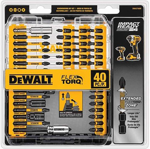 Dewalt Accesorios DWA2T40IR Juego para destornillador de impacto 40 piezas