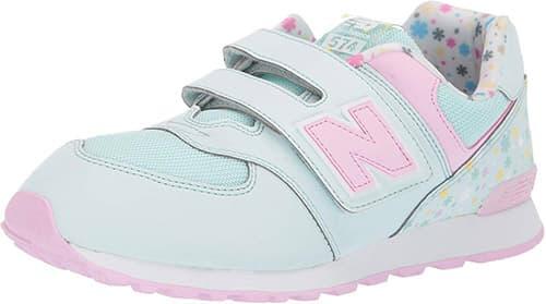 New Balance Iconic 574 V1 Velcro Tenis para Bebé-Niñas