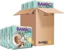Abena Bambo Nature Premium Baby 310163 - Pañales midi, tamaño 3, 5-9 kg/ 11-20ibs, pack de 6 x 33