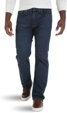 Wrangler Authentics - Jean de Cintura Flexible para Hombre